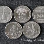 記念硬貨の25セント