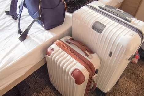 海外旅行の荷物