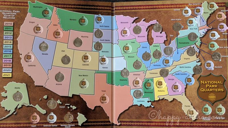 国立公園25セント硬貨プログラム