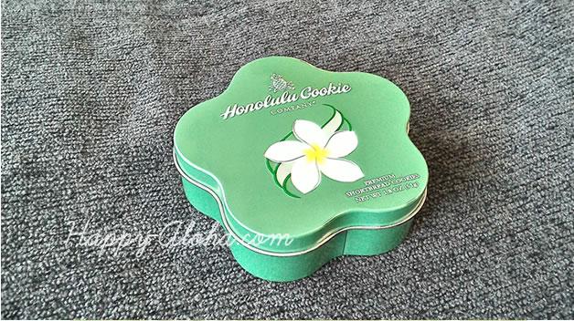 ホノルルクッキーの缶