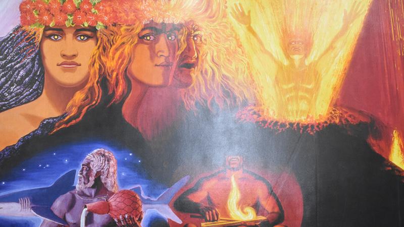 キラウエアの神話