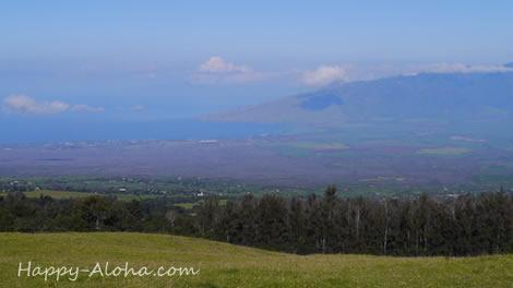 ハレアカラの途中からの風景
