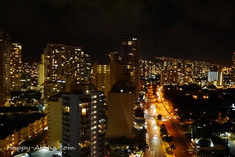 イリカイホテルからの夜景