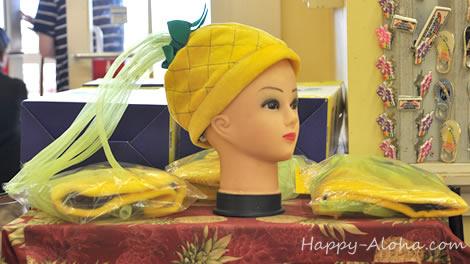 パイナップル帽子