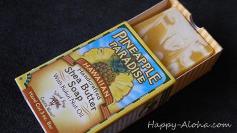 パイナップルの石鹸
