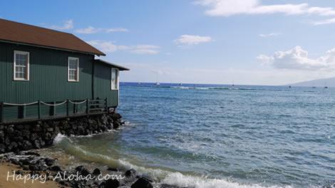 ラハイナの海