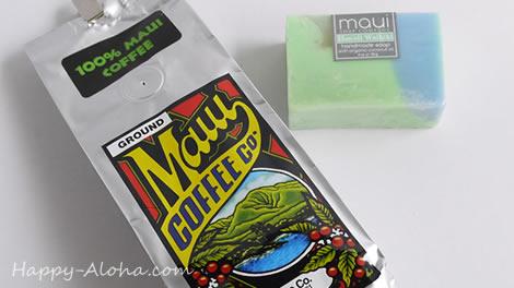 マウイコーヒーとマウイ石鹸