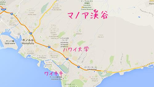 マノアの地図平面
