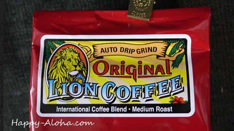 ライオンコーヒーのオリジナル味