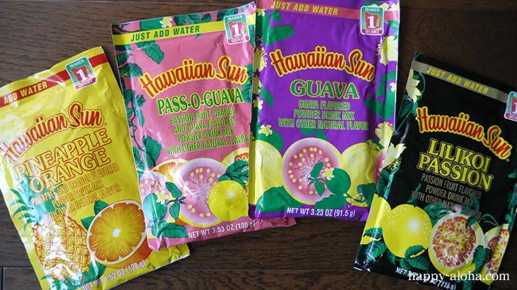 ハワイアンサンの粉末ジュース
