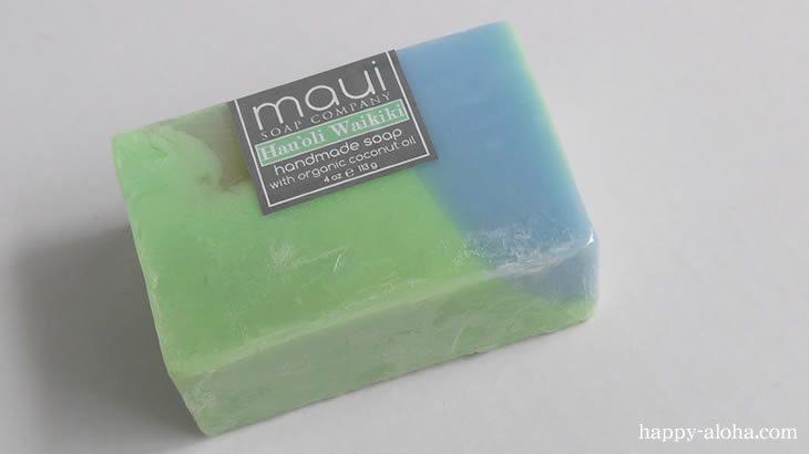マウイ島の石鹸