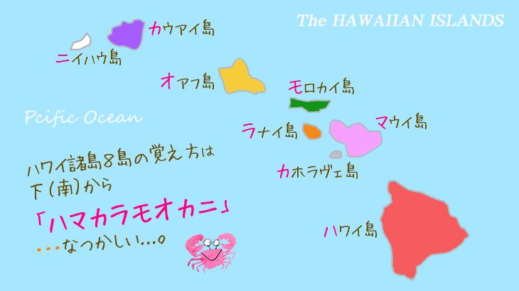 ハワイ8島