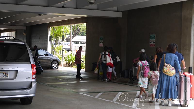 タクシー待ちの列
