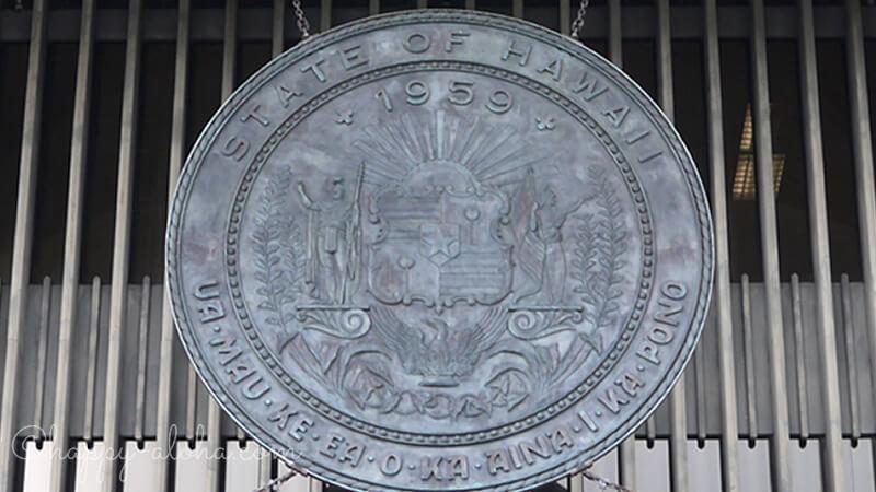 ハワイ州の紋章