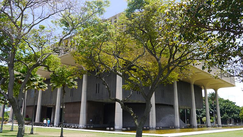 ハワイ州庁舎外観