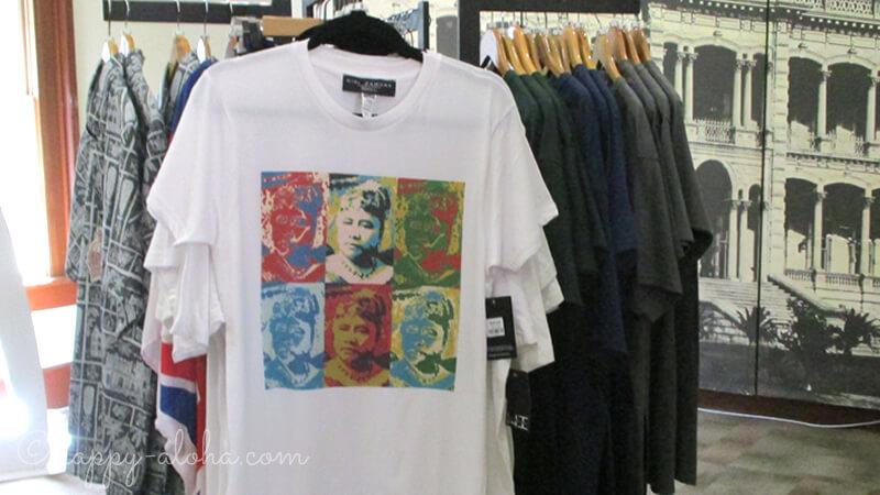 リリウオカラニ王妃Tシャツ