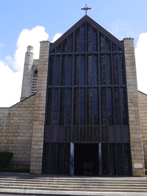 セント・アンドリュース大聖堂の正面