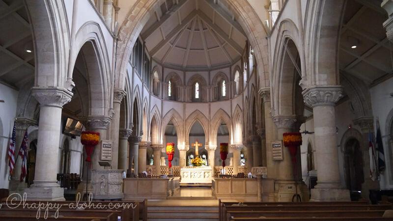 セント・アンドリュース大聖堂内