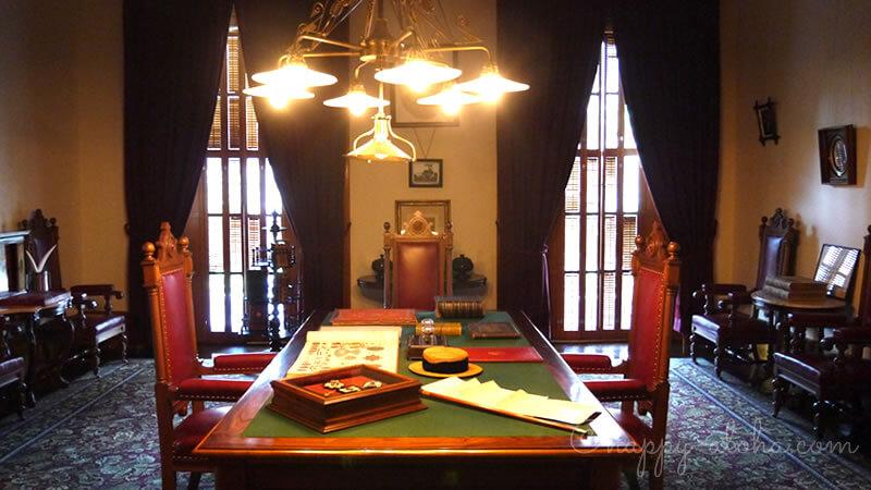 国王の執務室