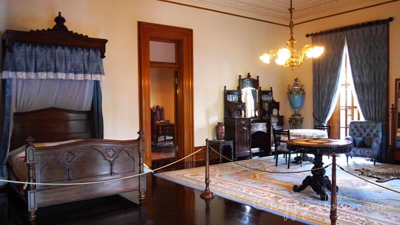 国王の寝室