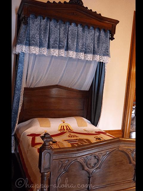 国王のベッド