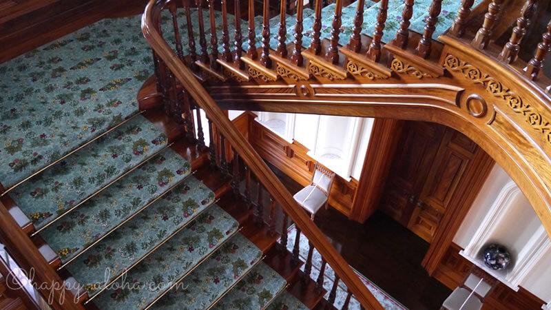 イオラニ宮殿階段