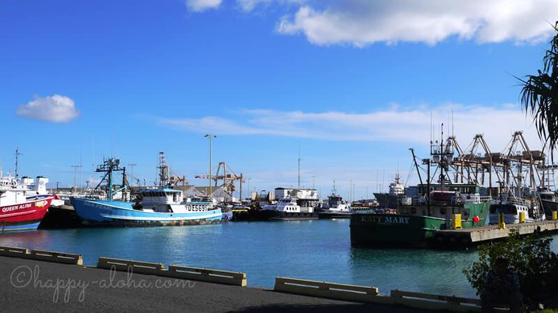 ニコスピア38周りの港