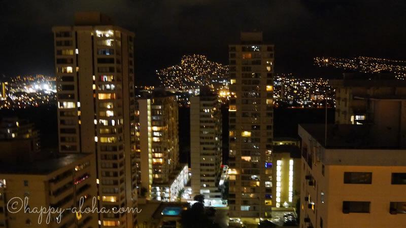 シティビューの夜景