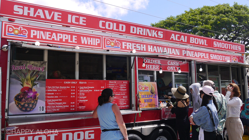 DOLEのパイナップルジューストラック