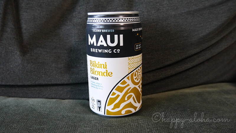 機内食のMAUIビール
