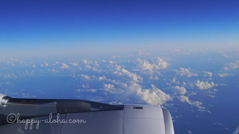機内からの風景