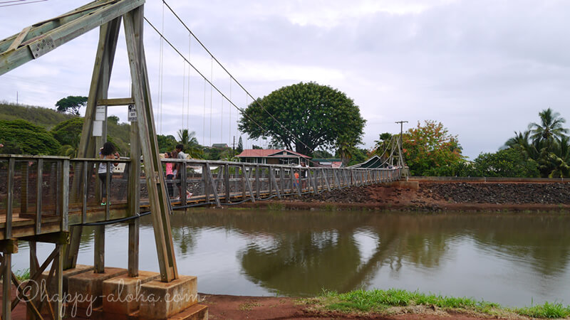 ハナペペの吊り橋