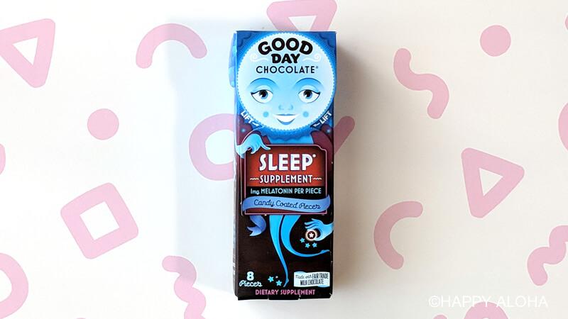 睡眠サプリメントチョコレート
