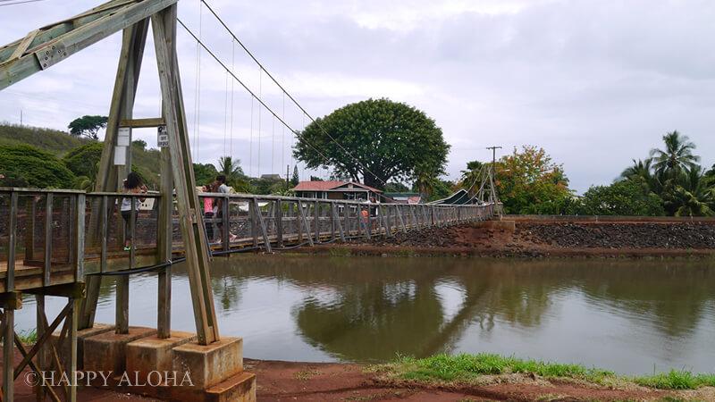 ハナペペのつり橋
