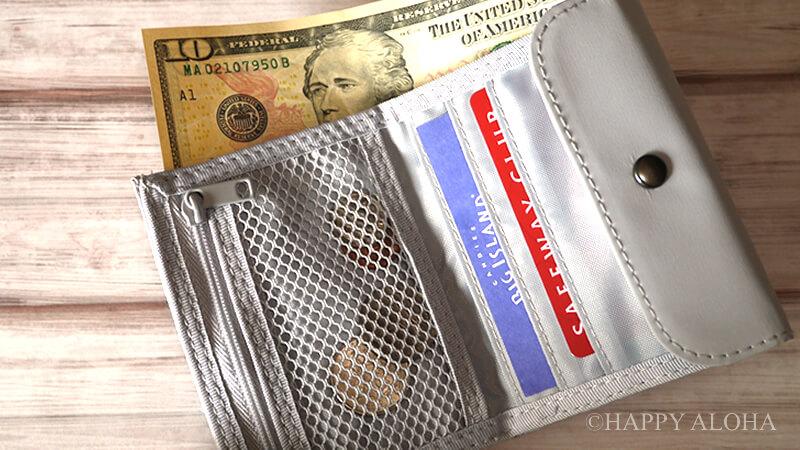 無印良品財布中