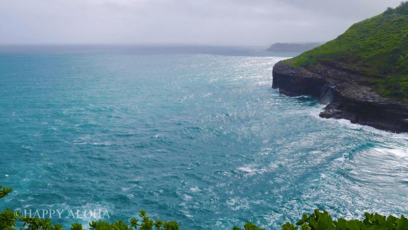 キラウエア灯台からの太平洋