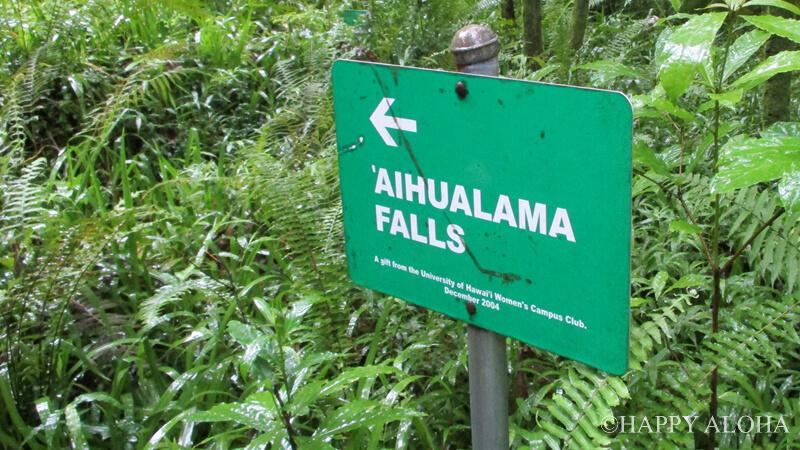 アイフアラマ滝はすぐそこ