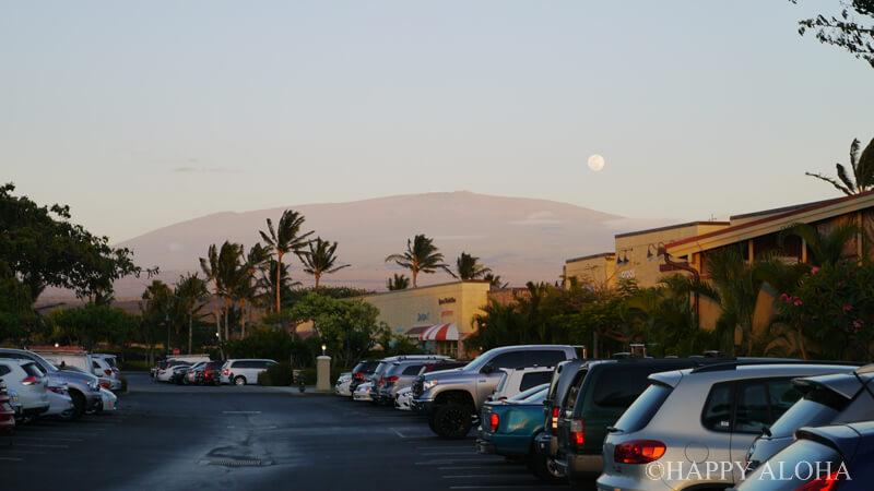 満月の日のマウナケア