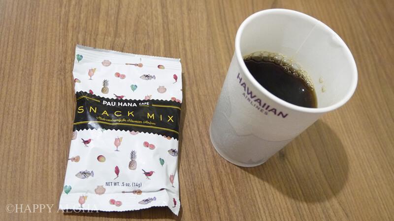 コーヒーとスナック