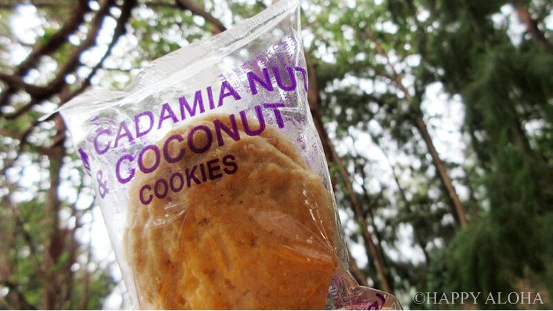 トレッキング休憩のクッキー