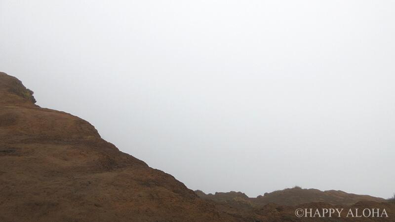 クリオウオウ山頂何も見えない