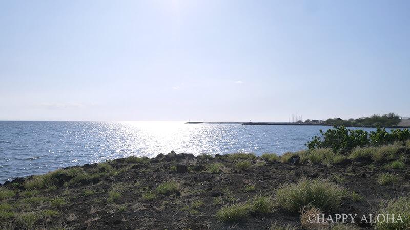 コハラコーストの海