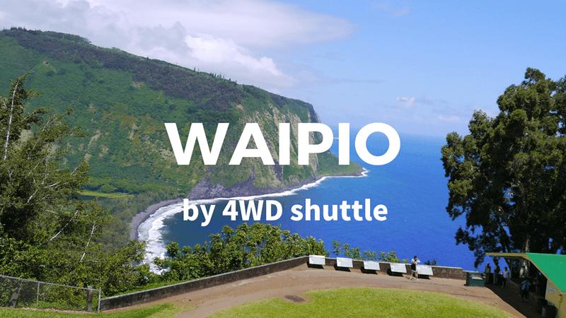 ワイピオ渓谷を四輪駆動のシャトルで巡るツアー