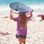 ビーチの少女