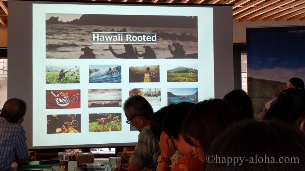 ハワイ島のイベント風景